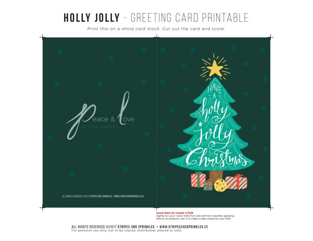 Print free christmas printable